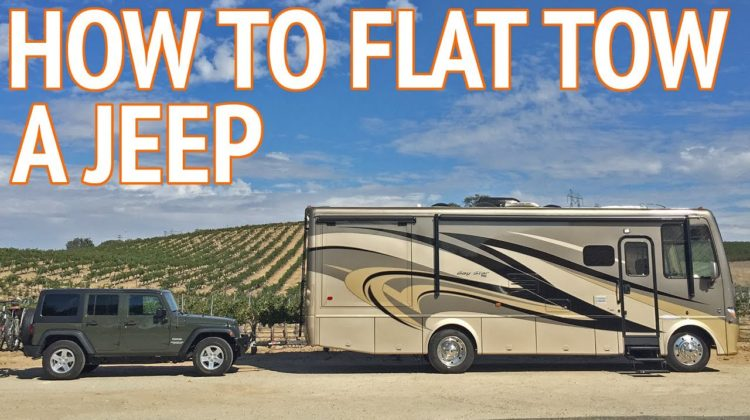 How To Flat Tow A Jeep Wrangler Behind An Rv Discount