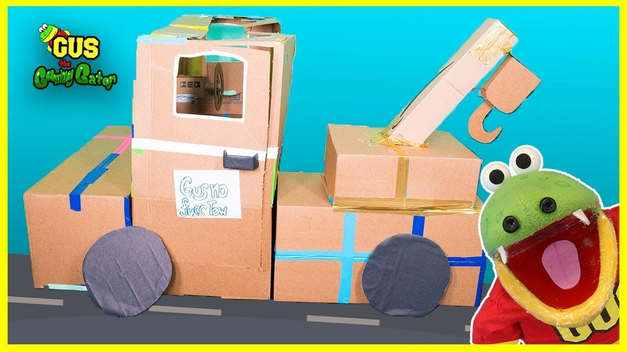 Construction Tow Truck Brisbane Box Fort Challenge