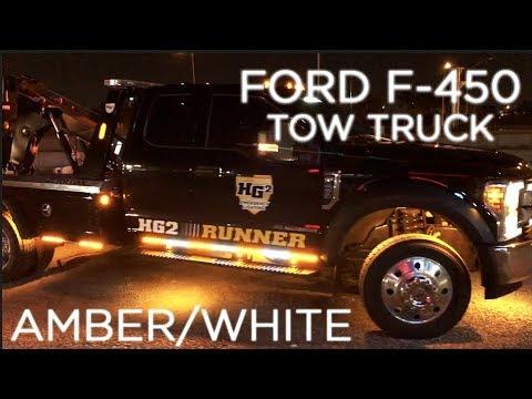 hg2 emergency lighting hg2 ford f 450 tow truck brisbane custom
