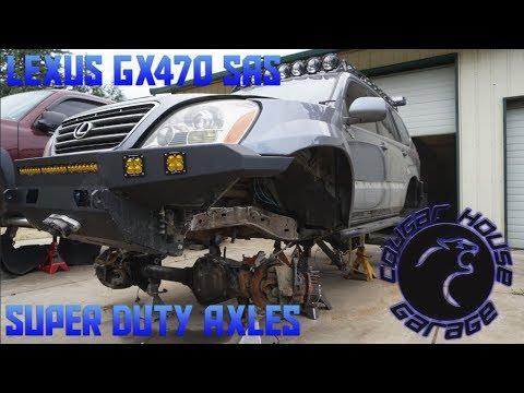 Lexus Gx470 Solid Axle Swap Pt2 Frame Prep An House