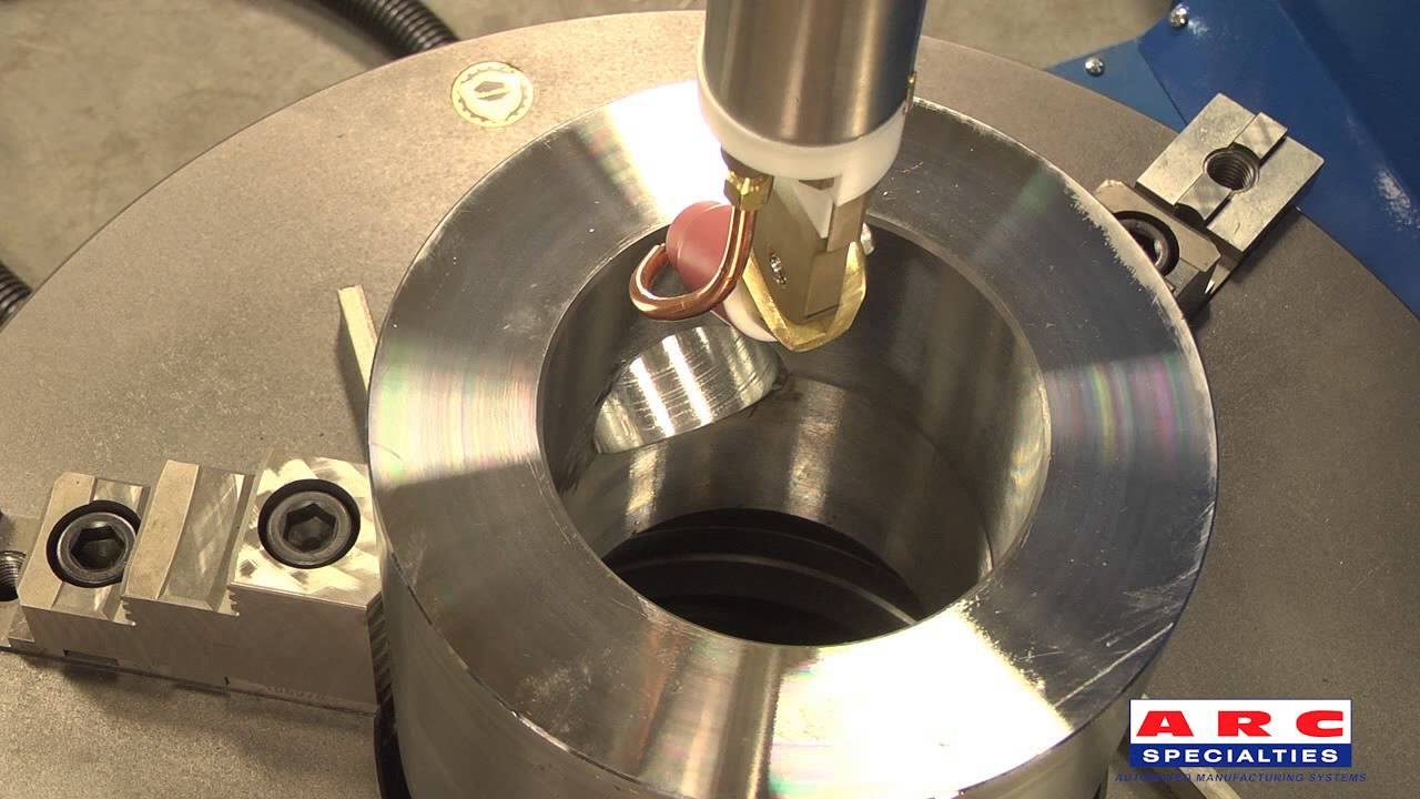 Intersecting Bore Setup And Inconel 625 Vinyl Cladding